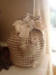 cartamodello sacchetto fermaporta stoffa - Cerca con Google