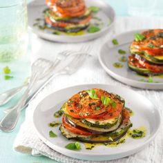 Italiaanse groentetaartjes Productfoto ID Shot Diner Recipes, Clean Recipes, Veggie Recipes, Easy Healthy Recipes, Vegetarian Recipes, Tapas, Diner Menu, Good Food, Yummy Food