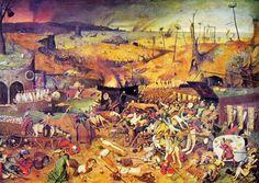 Pieter Bruegel, Il trionfo della morte.