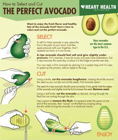 How To Select And Cut The Perfect Avocado