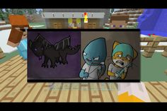 Stampy!!! Love squid stamps and the ender dragon is really cool