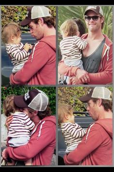 Chris hemsworth with daughter India, can you say so freakin adorable?!?:)