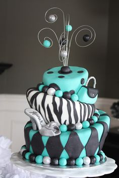 331 Best 40th Birthday Cake Images On Pinterest Pretty