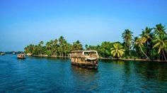 Kerala Backwaters India #nature, #tourist, #India