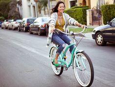 Andar de bicicleta é uma ótima ideia de se exercitar!