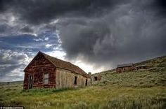 ... bodie in california now sits abandoned with scores of empty houses and