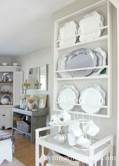 5 Favorite Farmhouse Plate Racks