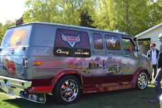 Chevy Van with Route 66 Artwork - Very cool!