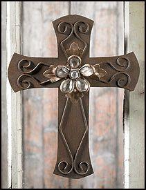 Decorative Crosses Home Decor Religious Standing Wall