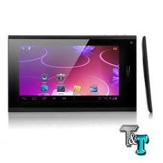 Con il nuovo Tablet  Black Panter ci fai ditutto!Lo usi come un table ma puoi usarlo anche come un cellulare.Schermo 7 pollici touchscreen con processore da 1ghz.  Tutta la potenza e la qualitá di un ottimo tablet ad un prezzo irrisorio!