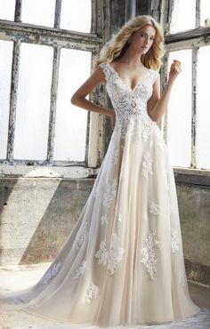 Courtesy of Morilee Wedding Dresses; www.morilee.com; Wedding dress idea.