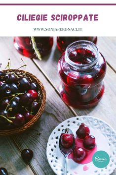 Best Italian Recipes, Recipe Boards, Fish And Seafood, Biscotti, Jelly, Crockpot, Cherry, Low Carb, Sweets