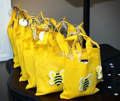 Urban Daisies: Bumble Bee Birthday Party