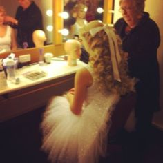 """The Phantom of the Opera"" - Meg Giry's dressing room."