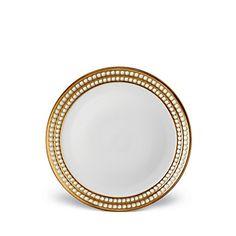 L'Objet Perlee Gold Dinnerware | @Bloomingdales