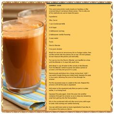 how to make carrot juice jamaican style