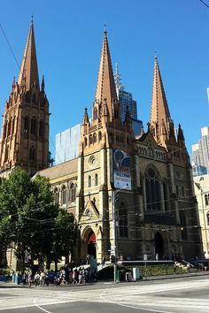 St Paul's Cathedral - Melbourne, Australia