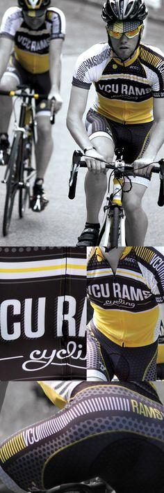 Brian Gartside   Graphic Design Portfolio  briangartsi.de VCU cycling kit