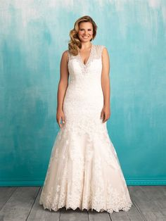 Womens Bridal Gown Available at Ella Park Bridal | Newburgh, IN | 812.853.1800 | Allure Women - Style W376