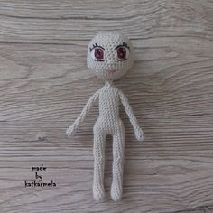 Master class on knitting the body of an amigurumi doll crochet Kukolichka with foto and video. Author's pattern from Katkarmela.
