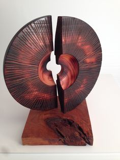 "From my ""Dusk Series"". Black Cherry Sculpture. Created by Steve Stover."
