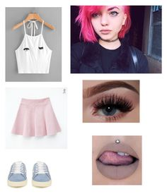 """Lipstick- Alivia outfit #2"" by justabbi on Polyvore featuring Yves Saint Laurent"