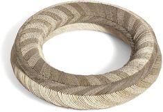 Nel Linssen, Netherlands, Necklace, 2000, reinforced paper, elastic thread