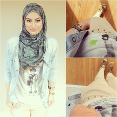 HijabLook » Collaborative Fashion, Hijab Style, Stories and Inspiration for Modern Muslim Women » OOTD rebel hijab style