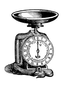 Vintage Scales Printables Collection