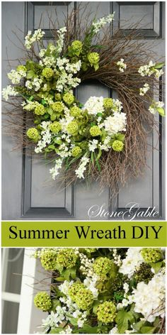 SUMMER WREATH TUTORIAL - StoneGable