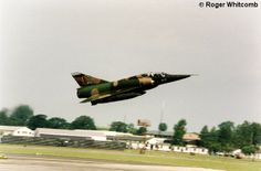 Belgian Air Force Dassault Breguet Mirage III. Taken at RAF Fairford IAT on departure day.