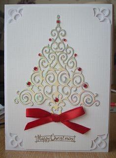 Four Christmas cards by: craftymarg