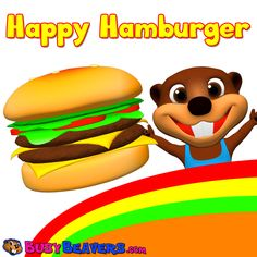 """This Collection of Songs & Lessons Teaches Toddlers """"Feelings & Food"""" Starring Delicious Hamburgers, Hot Dogs, Fruits, Vegetables, Cute Busy Beavers Characters & Catchy Music.  Please like & share this video for support.  https://www.youtube.com/watch?v=NWc3tpJPywI&index=2&list=PLDB6FE8E3E0778DC8"""