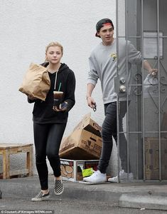 'We've been dating for years': Chloe Moretz reveals she has finally made things 'official' with on and off beau Brooklyn Beckham | Daily Mail Online