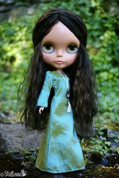 Heather Sky custom Blythe