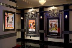 Home Theatre entry hall - modern - media room - new york - Jablonski Associates