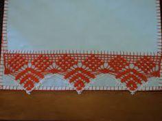 Resultado de imagem para panos de pratos pintados a mão com sinos de natal