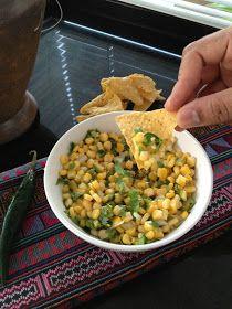 The Mistress of Spices: Speedy corn salsa à la Chipotle