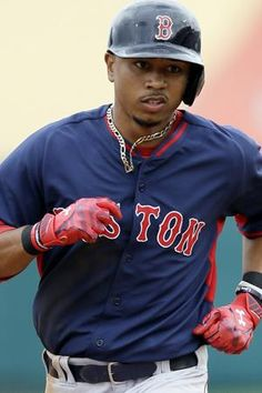 899461131 Mookie Betts earns  1000.00 cashiers check for the badass week that he s  had. Red Sox