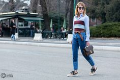 Street Style and Fashion Photography Milan, Mom Jeans, Fashion Photography, Street Style, Pants, Clothes, Trouser Pants, Outfits, Clothing