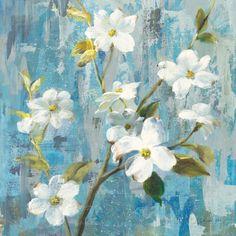 Graceful Magnolia I Art by Danhui Nai at AllPosters.com