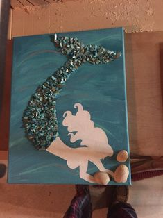 Mermaid canvas