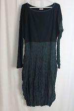 cocon.commerz PRIVATSACHEN   Kleid aus  SEIDE und Tencel in blauschwarz Gr. 2