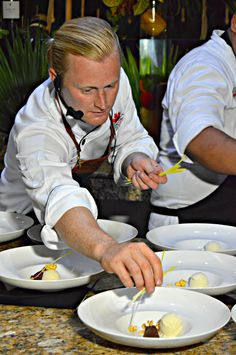 Chef Brook Kavanagh @canadianbeef & @KjWines Cooking Demo  Aug Edition2015 #KarismaExperience #ExperienceCDNbeef