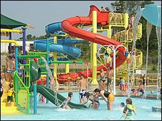 Paragould Outdoor Water Park Summer things to do with Jilin