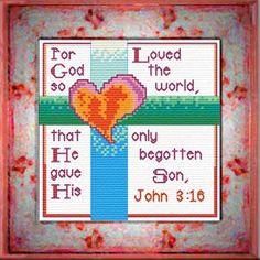 For God So Loved - John 3:16