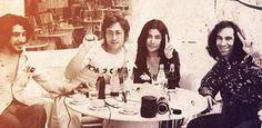 Arda Uskan, John Lennon, Yoko Ono, Erkin Koray