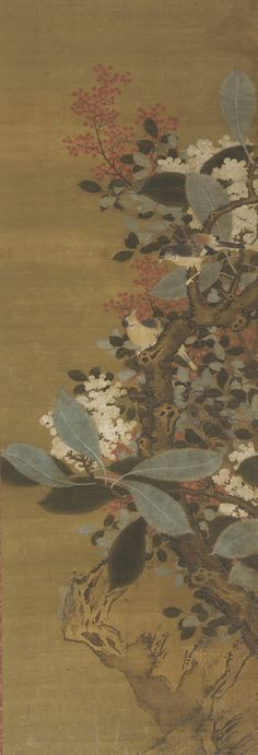 Chinese Art | Birds and berries | 17th-19th century | Ming or Qing dynasty | Ink and color on silk | China