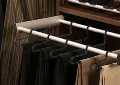 Slide-Out Pant Rack