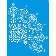 Stencil Litoarte 42,2x32 STW-038 Mandala - PalacioDaArte Mandala, Plaster Walls, Decals, Tapestry, Home Decor, Haberdashery, Hanging Tapestry, Tags, Tapestries